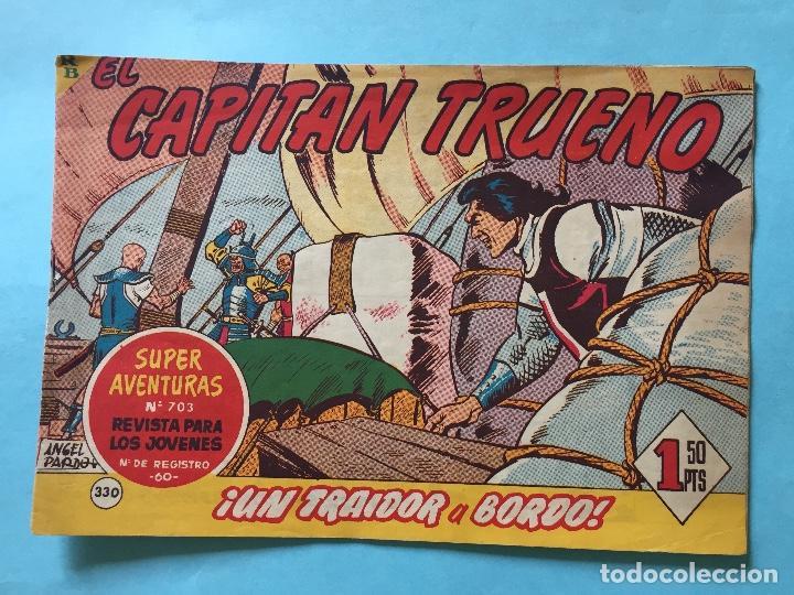 EL CAPITÁN TRUENO NUM 703 AÑOS 60 _LEY855 (Tebeos y Comics - Bruguera - Capitán Trueno)