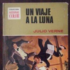 Tebeos: UN VIAJE A LA LUNA - Nº 9 JULIO VERNE - HISTORIAS COLOR - EDITORIAL BRUGUERA -1978. Lote 166447838