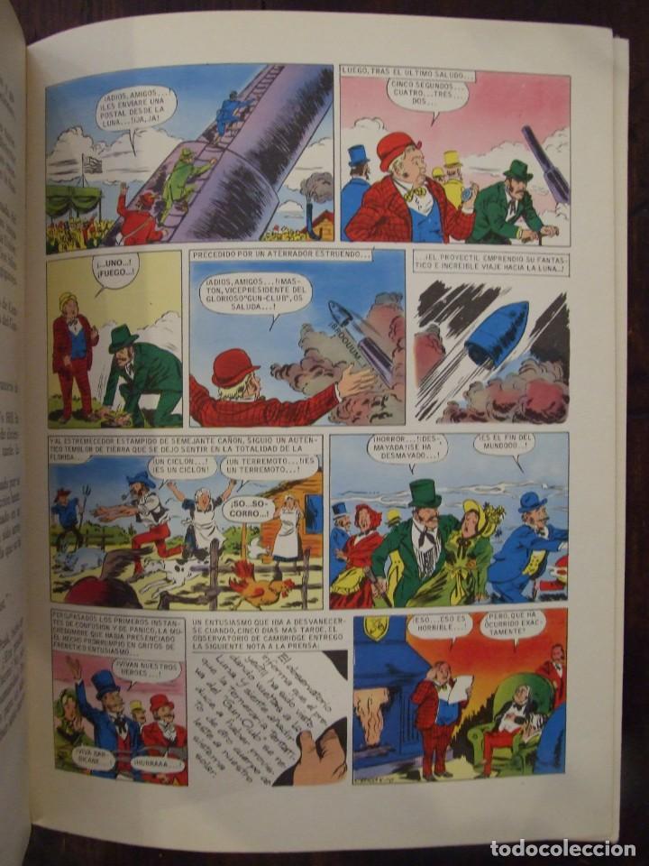 Tebeos: UN VIAJE A LA LUNA - Nº 9 JULIO VERNE - HISTORIAS COLOR - EDITORIAL BRUGUERA -1978 - Foto 5 - 166447838