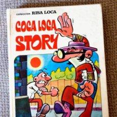 Tebeos: COCA LOCA STORY. MORTADELO Y FILEMÓN. RISA LOCA NÚMERO 4. BRUGUERA 1973. Lote 166482310