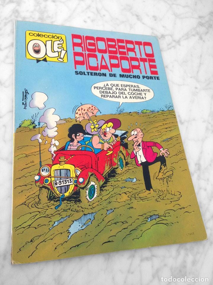 COLECCIÓN OLÉ! - RIGOBERTO PICAPORTE - ED. BRUGUERA - Nº 7 - 1ª EDICIÓN - 1971 (Tebeos y Comics - Bruguera - Ole)