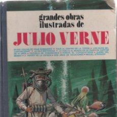 Tebeos: GRANDE OBRAS ILUSTRADAS DE JULIO VERNE 1, EDITORIAL BRUGUERA, 1ª EDICIÓN 1977. Lote 166699306