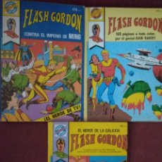 Tebeos: FLASH GORDON, POCKET DE ASES 14, 25 Y 34. Lote 166745217