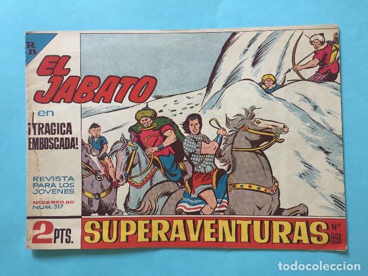 EL JABATO NUM 317 ¡TRÁGICA EMBOSCADA! _LEY869 (Tebeos y Comics - Bruguera - Jabato)
