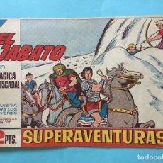 Tebeos: EL JABATO NUM 317 ¡TRÁGICA EMBOSCADA! _LEY869. Lote 166832358