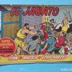 Tebeos: EL JABATO NUM 837 ¡CON LA MÚSICA A OTRA PARTE! _LEY872. Lote 166832758