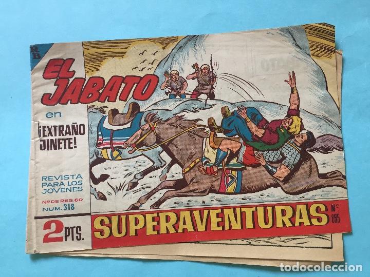 EL JABATO NUM 318 ¡EXTRAÑO JINETE! _LEY874 (Tebeos y Comics - Bruguera - Jabato)