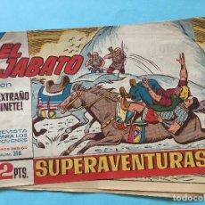 Tebeos: EL JABATO NUM 318 ¡EXTRAÑO JINETE! _LEY874. Lote 166833002