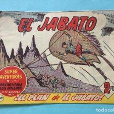 Tebeos: EL JABATO NUM 797 ¡EL PLAN DE EL JABATO! _LEY876. Lote 166833186