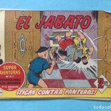 Tebeos: EL JABATO NUM 831 ¡TIGRE CONTRA PANTERAS! _LEY879. Lote 166833602