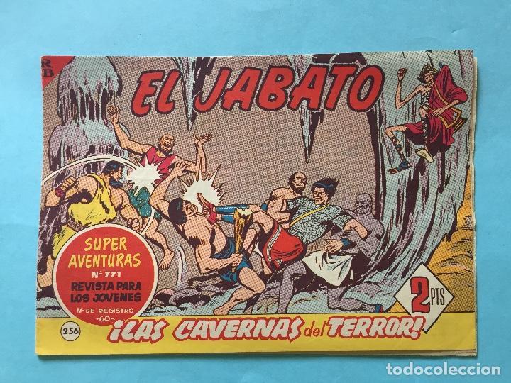 EL JABATO NUM 771 ¡LAS CAVERNAS DEL TERROR! _LEY879 (Tebeos y Comics - Bruguera - Jabato)
