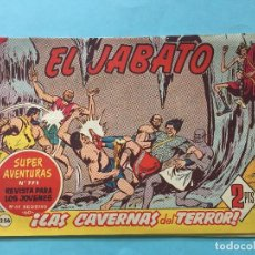 Tebeos: EL JABATO NUM 771 ¡LAS CAVERNAS DEL TERROR! _LEY879. Lote 166833674