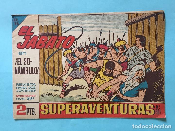 EL JABATO NUM 321 ¡EL SONÁMBULO! _LEY880 (Tebeos y Comics - Bruguera - Jabato)