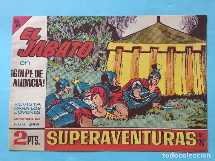 EL JABATO NUM 344 ¡GOLPE DE AUDACIA! _LEY883 (Tebeos y Comics - Bruguera - Jabato)