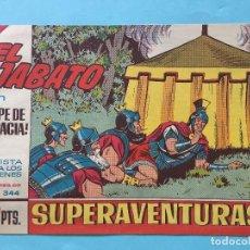 Tebeos: EL JABATO NUM 344 ¡GOLPE DE AUDACIA! _LEY883. Lote 166834046
