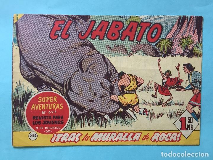 EL JABATO NUM 698 ¡TRAS LA MURALLA DE ROCA! _LEY886 (Tebeos y Comics - Bruguera - Jabato)