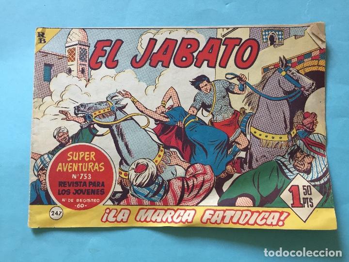 EL JABATO NUM 753 ¡LA MARCA FATÍDICA! _LEY887 (Tebeos y Comics - Bruguera - Jabato)