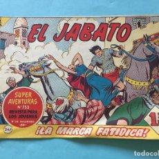 Tebeos: EL JABATO NUM 753 ¡LA MARCA FATÍDICA! _LEY887. Lote 166834362