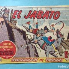 Tebeos: EL JABATO NUM 793 ¡PERSEGUIDOS SIN TREGUA! _LEY899. Lote 166835726