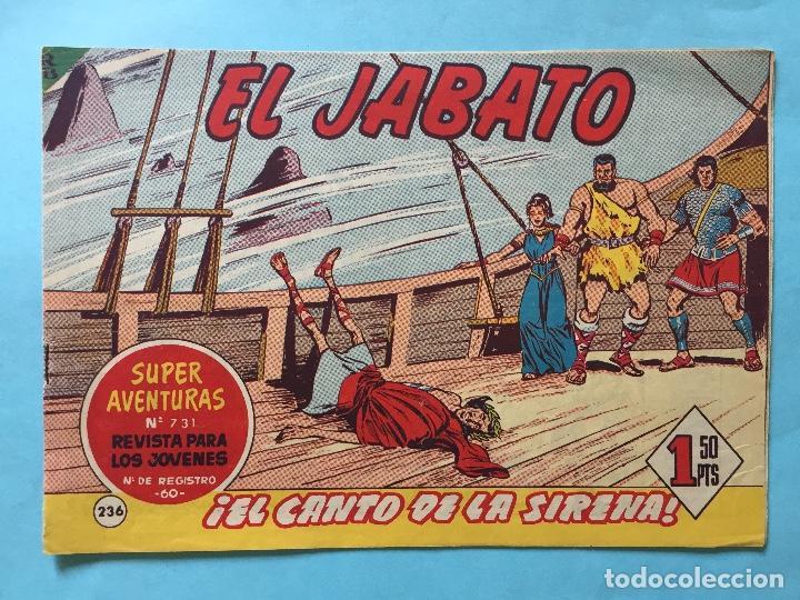 EL JABATO NUM 731 ¡EL CANTO DE LA SIRENA! _LEY900 (Tebeos y Comics - Bruguera - Jabato)