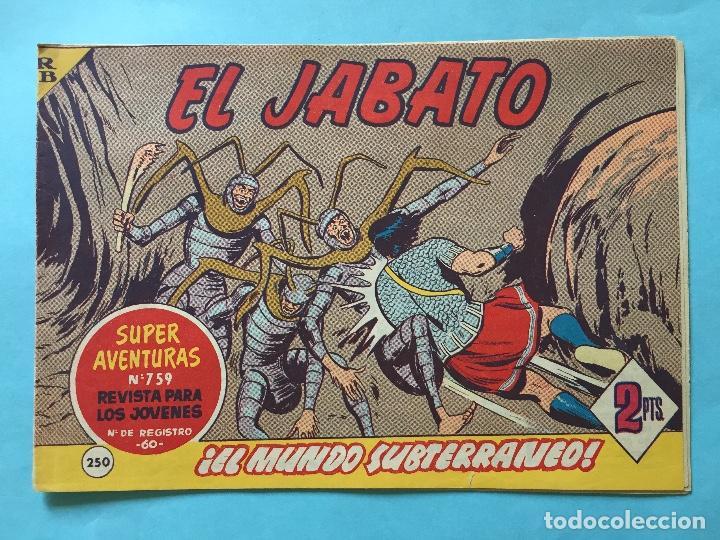 EL JABATO NUM 759 ¡EL MUNDO SUBTERRÁNEO! _LEY901 (Tebeos y Comics - Bruguera - Jabato)