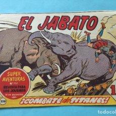 Tebeos: EL JABATO NUM 717 ¡COMBATE DE TITANES! _LEY903. Lote 166836298