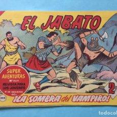 Tebeos: EL JABATO NUM 869 ¡LA SOMBRA DEL VAMPIRO! _LEY905. Lote 166836442