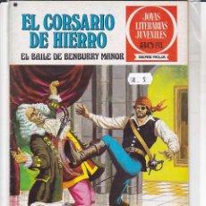 Tebeos: COMIC COLECCION CORSARIO DE HIERRO. Lote 166912700