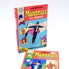 Livros de Banda Desenhada: SERIE CLÁSICOS POCKET DE ASES 33,38. MANDRAKE EL MAGO PACK DE 2NºS (LEE FLAK) BRUGUERA, 1983. OFRT. Lote 187472346