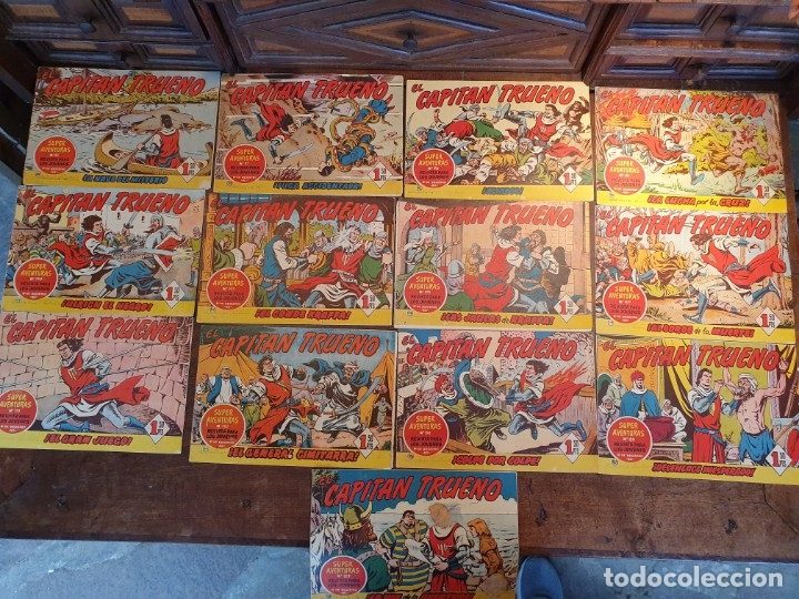 13 CÓMICS CAPITÁN TRUENO (Tebeos y Comics - Bruguera - Capitán Trueno)