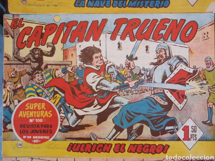 Tebeos: 13 cómics capitán trueno - Foto 8 - 167071804