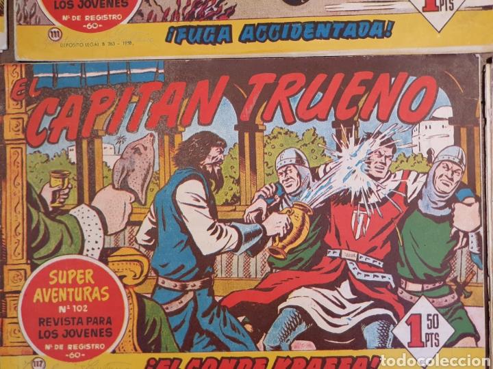 Tebeos: 13 cómics capitán trueno - Foto 9 - 167071804