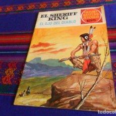 Tebeos: EL SHERIFF KING Nº 55 EL OJO DEL DIABLO. GRANDES AVENTURAS JUVENILES. BRUGUERA 1973. 15 PTS. RARO.. Lote 167191676