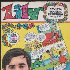 Tebeos: LILY. AÑO XI. Nº 452. BRUGUERA. 1970.. Lote 167196194