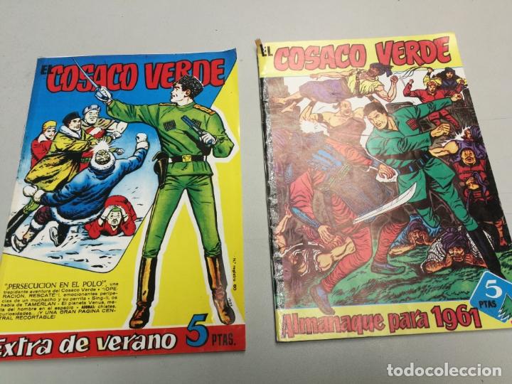EL COSACO VERDE ALMANAQUE PARA 1991 Y ESTRA DE VERANO (Tebeos y Comics - Bruguera - Cosaco Verde)