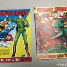 Tebeos: EL COSACO VERDE ALMANAQUE PARA 1991 Y ESTRA DE VERANO. Lote 167491760