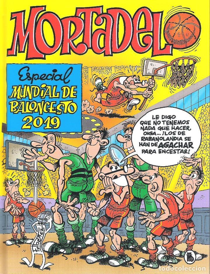 ESPECIAL MUNDIAL DE BALONCESTO 2019 , MORTADELO (Tebeos y Comics - Bruguera - Mortadelo)