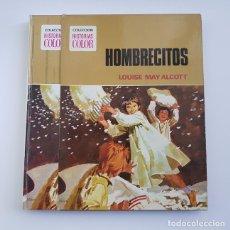 Tebeos: HOMBRECITOS, LOUISE MAY ALCOTT,HISTORIAS COLOR Nº 8 BRUGUERA,1ª PRIMERA EDICIÓN,AÑO 1973,BUEN ESTADO. Lote 167578640
