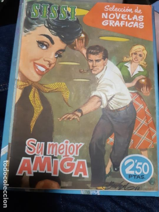 TEBEOS-COMICS CANDY - SISSI NOVELAS GRAFICAS- Nº 97 - EDMOND, BLASCO, ALZAMOR, ETC. - ORIGINAL *AA98 (Tebeos y Comics - Bruguera - Sissi)