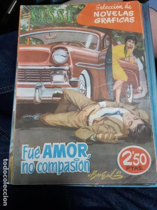 TEBEOS-COMICS CANDY - SISSI NOVELAS GRAFICAS- Nº 88 - OTS, CARRILLO, BLASCO, ETC. - ORIGINAL *AA98 (Tebeos y Comics - Bruguera - Sissi)
