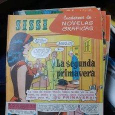 Tebeos: TEBEOS-COMICS CANDY - SISSI NOVELAS GRAFICAS- Nº 45 - CARRILLO, IRAOLA, ETC. - ORIGINAL *AA98. Lote 167589024