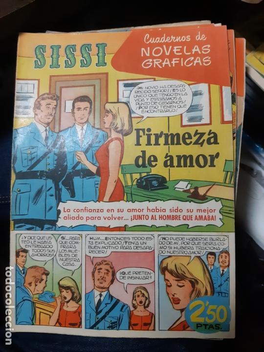 TEBEOS-COMICS CANDY - SISSI NOVELAS GRAFICAS- Nº 43 - CARRILLO, BUYLLA, JUEZ, ETC. - ORIGINAL *AA98 (Tebeos y Comics - Bruguera - Sissi)