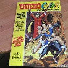 Tebeos: CAPITAN TRUENO COLOR EXTRA ALBUM GIGANTE AMARILLO Nº 6 SEGUNDA EPOCA (BRUGUERA) (COIB2). Lote 167613844