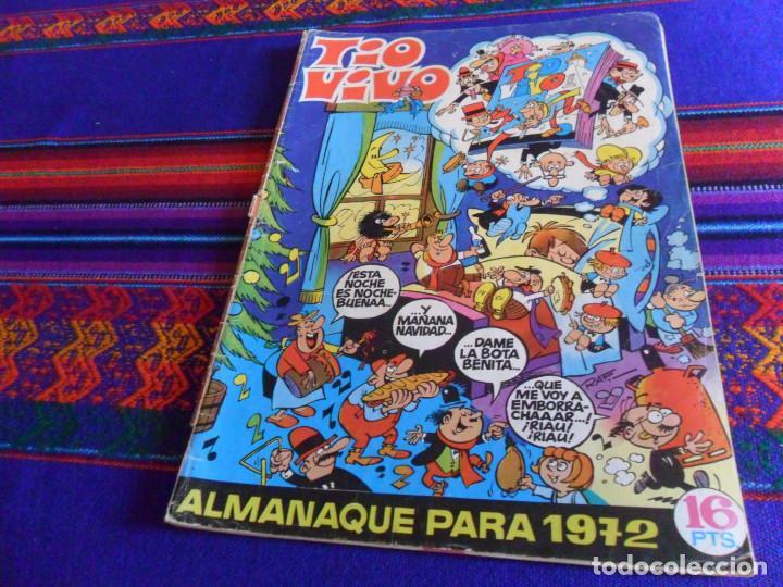 TIO VIVO ALMANAQUE 1972. BRUGUERA 16 PTS. REGALO TIO VIVO EXTRA VERANO 1970. (Tebeos y Comics - Bruguera - Tio Vivo)