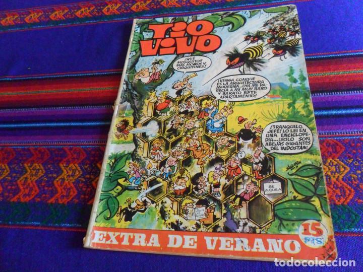 Tebeos: TIO VIVO ALMANAQUE 1972. BRUGUERA 16 PTS. REGALO TIO VIVO EXTRA VERANO 1970. - Foto 2 - 167668668