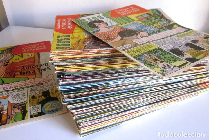Tebeos: Lote 105 números SISSI novelas gráficas revista femenina edita Bruguera años 50 - Foto 2 - 167670036