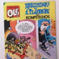 Tebeos: OLÉ EDT. BRUGUERA, MORTADELO Y FILEMÓN N°274, 1ª EDICIÓN 1983. Lote 167795236