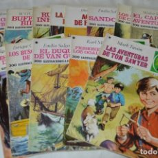 Tebeos: ORIGINAL - JOYAS LITERARIAS JUVENILES - EDITORIAL BRUGUERA S.A. - 14 NÚM / EJEMPLARES - AÑOS 70. Lote 167801840