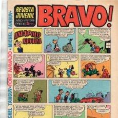 Tebeos: X- BRAVO! REVISTA JUVENIL AÑO I Nº 39 - MICHEL TANGUY FORT NAVAJO (CAÑÓN AZUL NO CONTASTA). Lote 167822532
