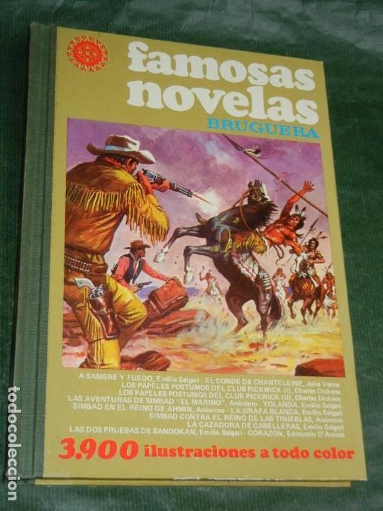 FAMOSAS NOVELAS XVI 16 - ED.BRUGUERA 1979 1A.ED. (Tebeos y Comics - Bruguera - Joyas Literarias)
